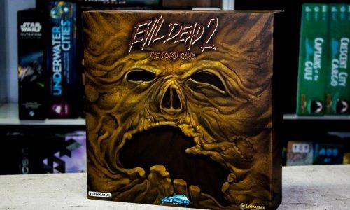 EVIL DEAD 2: THE BOARDGAME // nun im Handel verfügbar