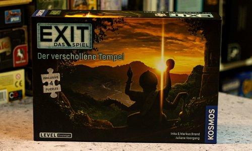 EXIT – DAS SPIEL + PUZZLE // Der verschollene Tempel - erste Bilder