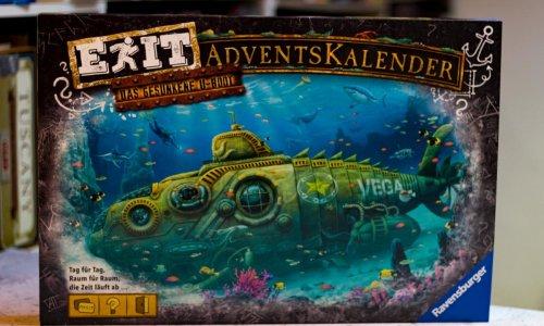 EXIT ADVENTSKALENDER // DAS GESUNKENE U-BOOT
