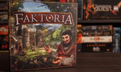 FAKTORIA // Bilder vom Spielmaterial