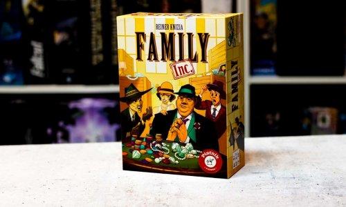 FAMILY INC. // neues Reiner Knizia Spiel