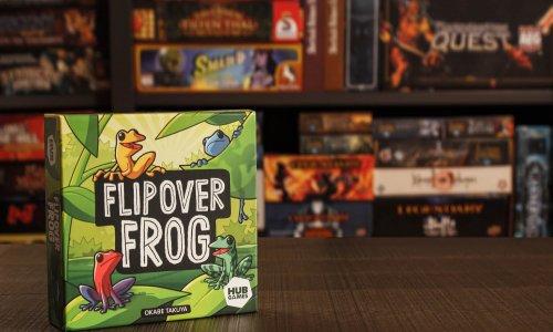 FLIP OVER FROG // Bilder vom Spielmaterial