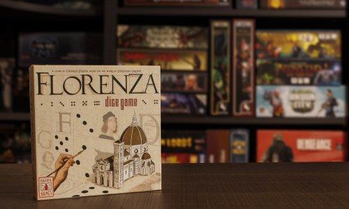 FLORENZA - DICE GAME // Bilder vom Spielmaterial