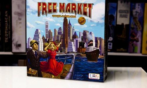 FREE MARKET: NYC // Erste Bilder vom Spielmaterial