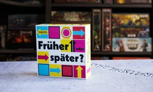 FRÜHER ODER SPÄTER // Quizspiel soll im September erscheinen