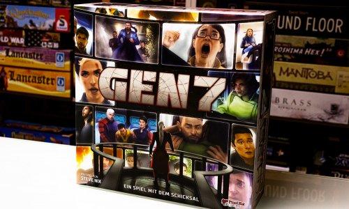 GEN7 // Erste Bilder vom Spielmaterial
