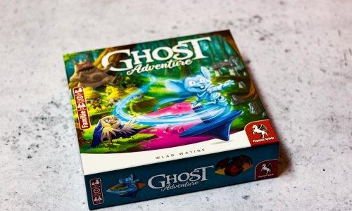 GHOST ADVENTURE //  Bilder des Spielmaterials
