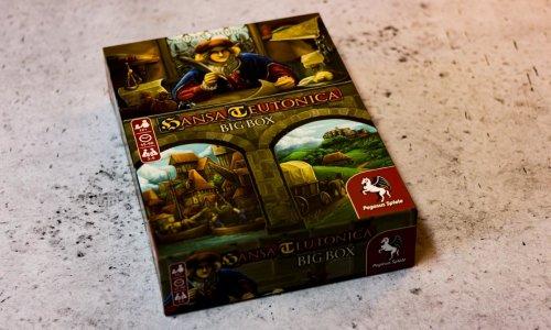 HANSA TEUTONICA BIG BOX // Bilder des Spielmaterials