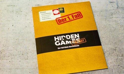 TEST  // HIDDEN GAMES TATORT – DER 1. FALL