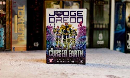 TEST // JUGDE DREDD: THE CURSED EARTH