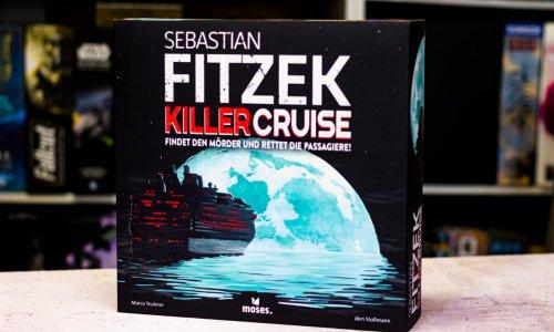 SEBASTIAN FITZEK – KILLERCRUISE // Bilder des Spielmaterials