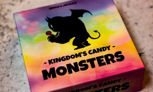 KINGDOM'S CANDY: MONSTERS // Bilder des Spielmaterials