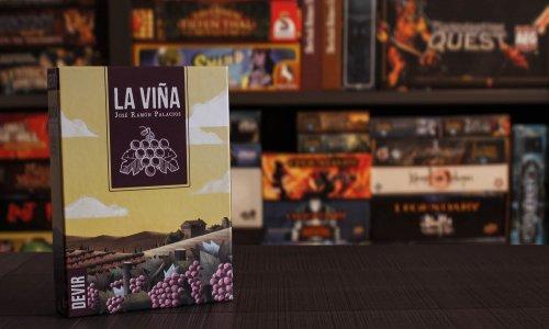 LA VINA // Bilder vom Spielmaterial