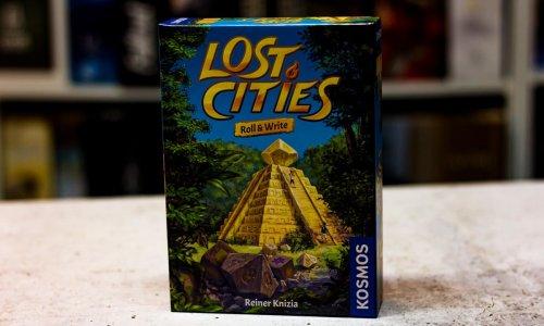 LOST CITIES – ROLL & WRITE // neues Spiel von Reiner Knizia