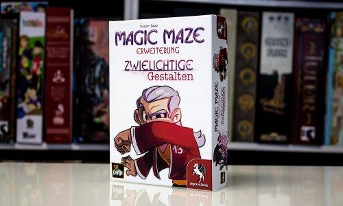 MAGIC MAZE // Zwielichtige Gestalten – erste Bilder