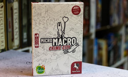 TEST // MICROMACRO: CRIME CITY