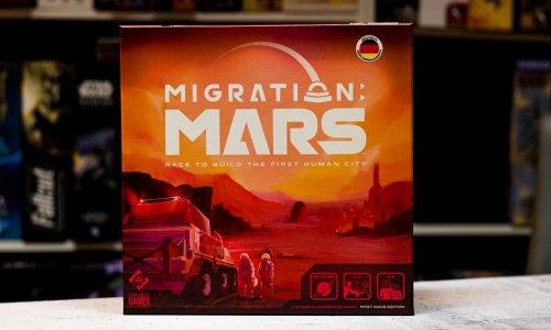 MIGRATION MARS // wurde an Unterstützende ausgeliefert