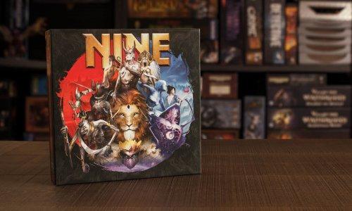 NINE // Bilder vom Spielmaterial