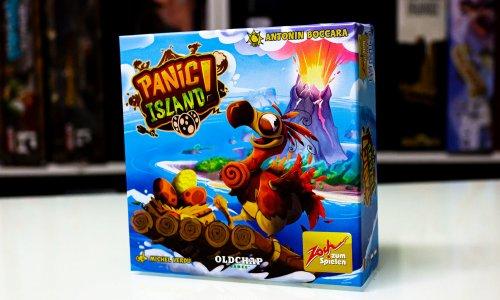 TEST // PANIC ISLAND!