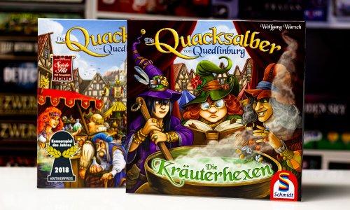 UNBOXING // Die Quacksalber von Quedlinburg - Kräuterhexen Erweiterung