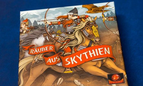 RÄUBER AUS SKYTHIEN // Bilder des Spielmaterials