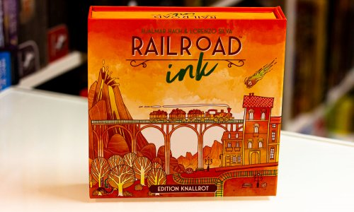 TEST // RAILROAD INK EDITION KNALLROT