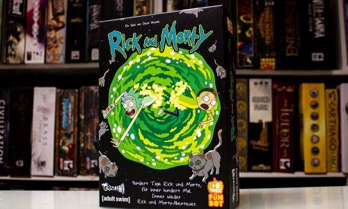RICK AND MORTY // Erste Bilder vom Brettspiel