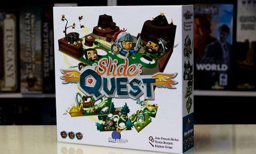 SLIDE QUEST // Bilder vom Spiel