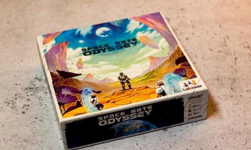 SPACE GATE ODYSSEY // Bilder des Spielmaterials