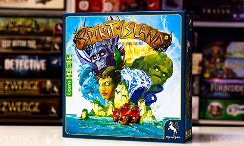 SPIRIT ISLAND // Das Spielmaterial des Strategie Spiels