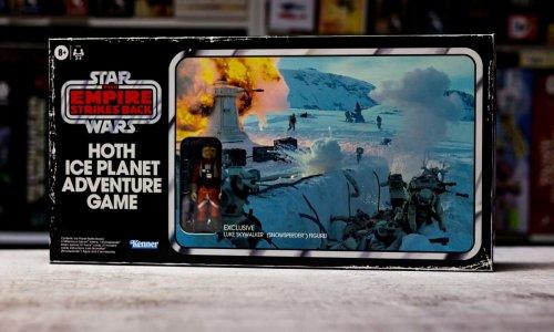 STAR WARS: HOTH ICE PLANET ADVENTURE GAME // Neuauflage mit Miniatur