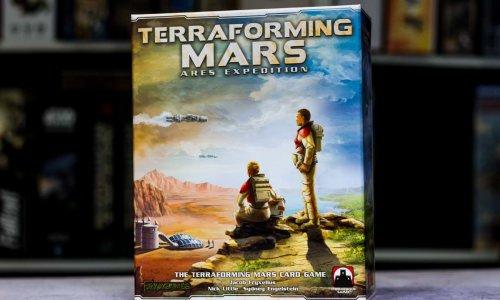 TERRAFORMING MARS: ARES EXPEDITION// Kickstarter wird ausgeliefert