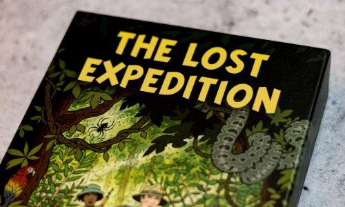 THE LOST EXPEDITION // Bilder des Spielmaterials