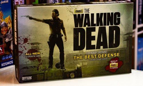 THE WALKING DEAD BOARD GAME: THE BEST DEFENSE // Bilder vom Spiel