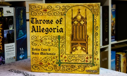 TEST // THRONE OF ALLEGORIA