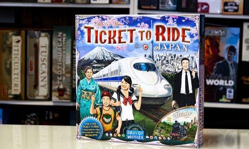 TICKET TO RIDE // Bilder der Japan/Italien-Erweiterung