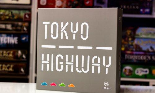 TOKYO HIGHWAY // Bilder vom Spielmaterial