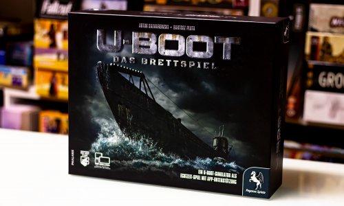U-BOOT // Kickstarter Spiel in der Auslieferung – erste Bilder