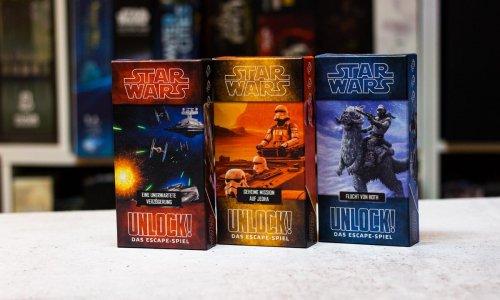 UNLOCK! STAR WARS - DAS ESCAPE-SPIEL // einzelne Boxen erschienen