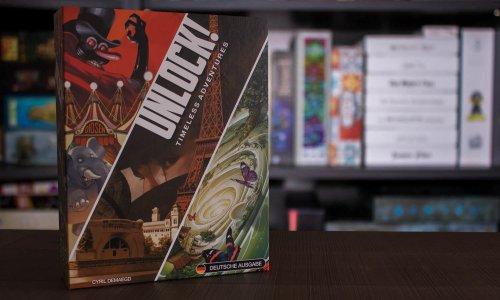 UNLOCK! - TIMELESS ADVENTURES // Bilder vom Spielmaterial