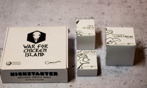 WAR FOR CHICKEN ISLAND // Bilder der KS-Extras und Erweiterungen
