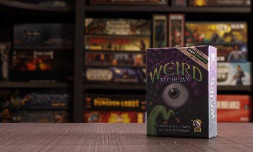 WEIRD ALCHEMY // Bilder vom Spielmaterial