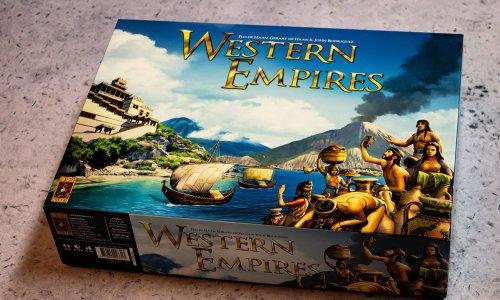 WESTERN EMPIRES // Bilder vom Spielmaterial