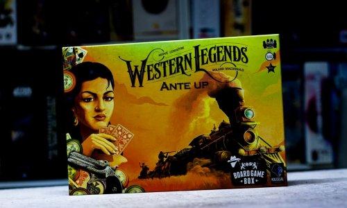 WESTERN LEGENDS // ANTE UP - das Spielmaterial