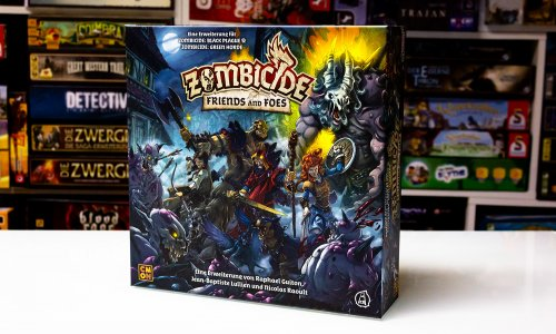 ZOMBICIDE // Friends and Foes – erste Bilder vom Material