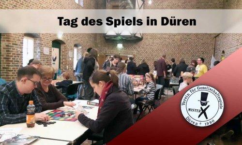EVENT // Tag des Spiels im Dürener Schloss - 10.11.2019