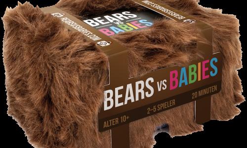 Bears vs. Babies von Asmodee nun lieferbar
