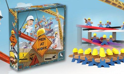 Men at Work von Pretzle Games nun im Handel verfügbar