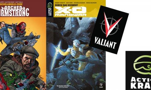 SCHWERKRAFT VERLAG // Ab sofort erscheinen Valiant Comics in Deutschland