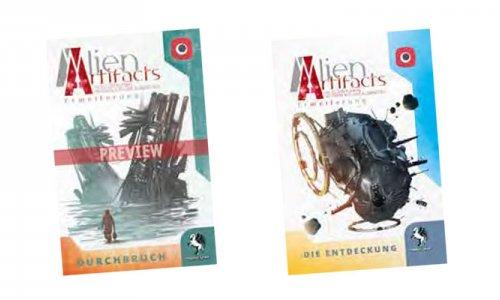 Alien Artifacts // Zwei Erweiterungen für 2019 angekündigt